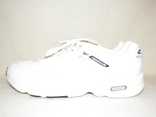 Reebok Hexalite Quiet Ride 3d Ultralite Fitness white blue Athletic Image 3