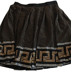 Versace for H&M Skirt Black and gold