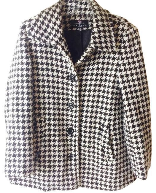 Preload https://img-static.tradesy.com/item/20467008/gallery-black-and-white-houndstooth-coat-size-petite-4-s-0-2-650-650.jpg