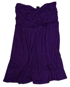 Wet Seal short dress Purple on Tradesy
