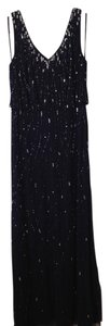 Adrianna Papell Sequin Beaded Elegant Dress