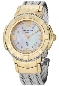 Charriol Charriol Women's CE438Y1.650.002 'Celtic' Mother of Pearl watch