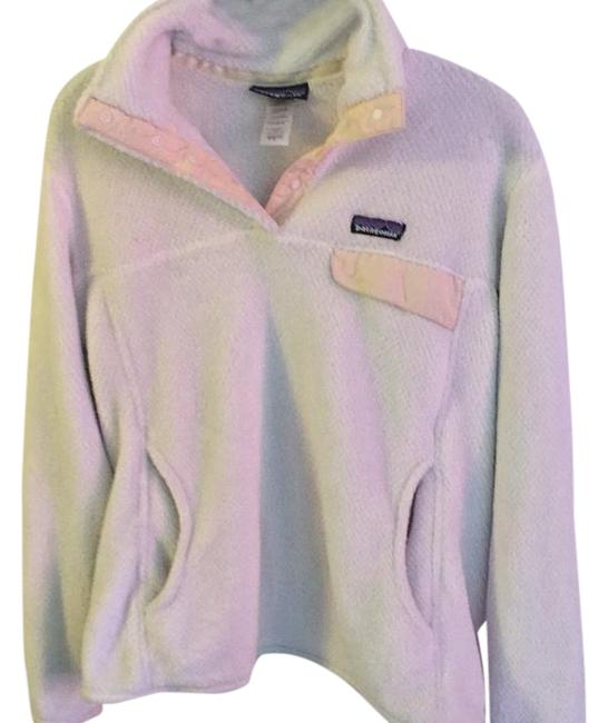 Item - White Re-tool Snap-t Fleece Activewear Top Size 12 (L)