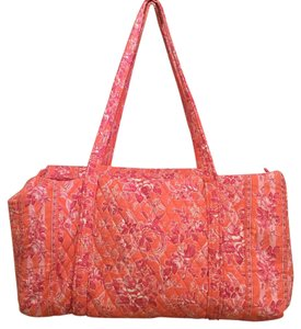 Vera Bradley Travel Duffel Cotton Quilted Hope Toile (Retired) Travel Bag