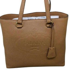 Prada Tote in natural