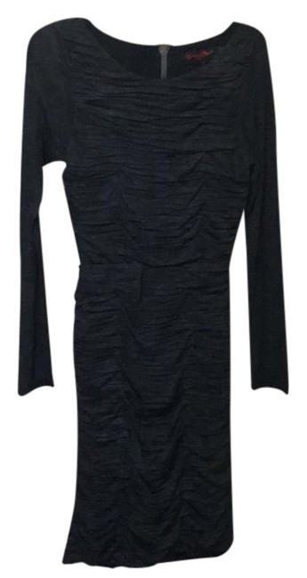 Item - Gray 1 Knee Length Night Out Dress Size 8 (M)