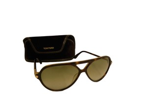 Tom Ford Tom Ford Tortoise Sunglasses Brown with Case