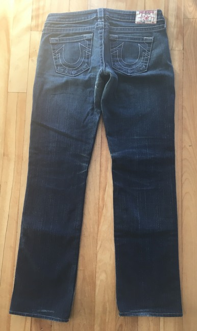 True Religion Straight Leg Jeans-Distressed Image 3
