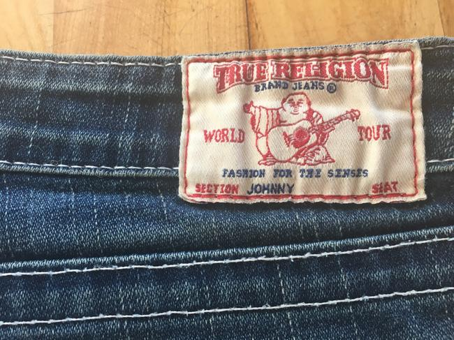 True Religion Straight Leg Jeans-Distressed Image 7