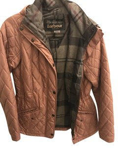 Barbour Quilted Hooded Dusty Rose Jacket