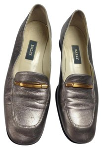 Bally Pewter Flats