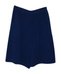 St. John Mini/Short Shorts royal blue
