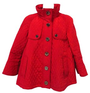 Something Extra Quilted Red Jacket