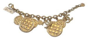 Chanel CHANEL NWT GOLDTONE LARGE & SMALL CHARM BRACELET ($1100)