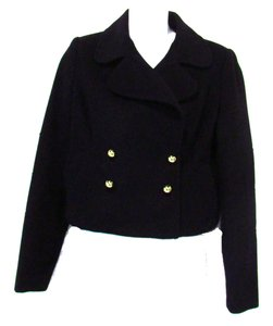 The Limited Wool Blend Black Jacket