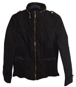 Fury Black Detailing Gold Jacket