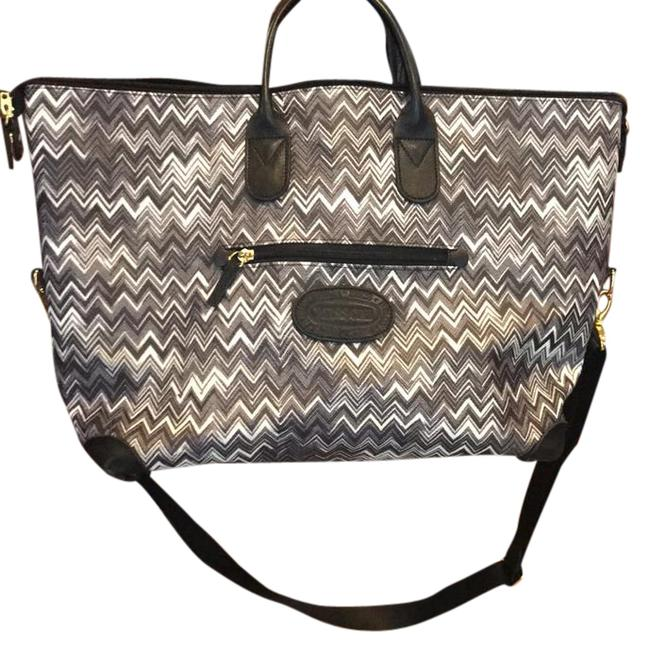 Item - Black and White Weekend/Travel Bag