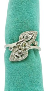 NYCFineJewelry 1.5CT (Approximately) 29 Diamonds Ring 14K White Gold,SIZABLE, SIZE 11