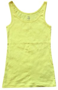 Ann Taylor LOFT Top cheery yellow
