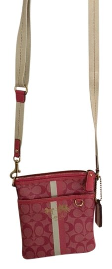 Preload https://img-static.tradesy.com/item/20467696/coach-purse-dark-and-light-pinks-with-white-cross-body-bag-0-3-540-540.jpg