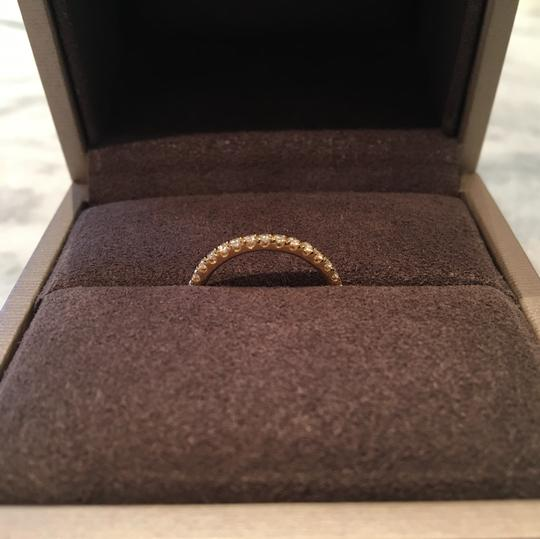 Chaumet diamond pave stackable wedding band in gold Image 2
