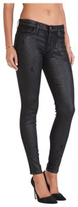 Current/Elliott Ankle Trucker Coating Skinny Jeans-Coated
