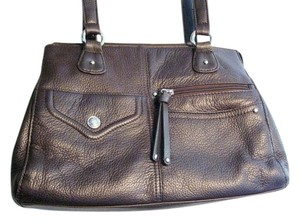 Stone & Co. Satchel in Dark Brown