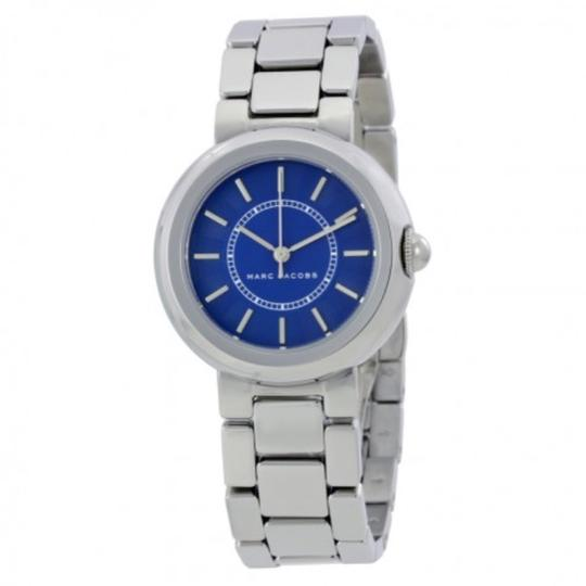 Marc Jacobs NIB Courtney Stainless Steel Silver & Blue Women's Bracelet Watch MJ3467 Image 1