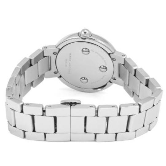 Marc Jacobs NIB Courtney Stainless Steel Silver & Blue Women's Bracelet Watch MJ3467 Image 4
