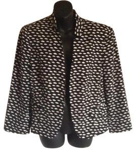 Nine West Black and white Blazer