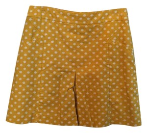 Boden Mini Skirt Yellow