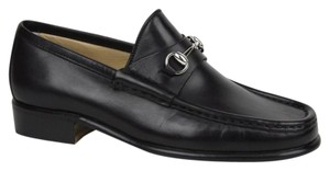 Gucci Women's Leather Classic Black Flats