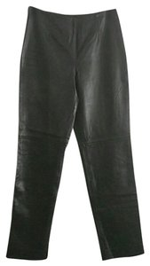 Dana Buchman Leather Lambskin Vintage Pants