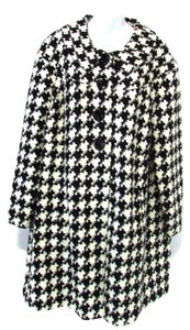 Coldwater Creek Checkered Frock Coat