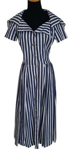Blue/White Maxi Dress by Vivienne Westwood