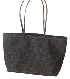 Fendi Tote in Fendi monogram with purple lining