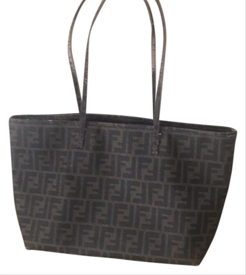 44165b7832 Fendi Monogram with Purple Lining Tote - Tradesy