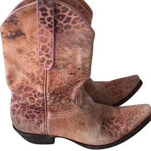 Old Gringo Pink Leopard Boots