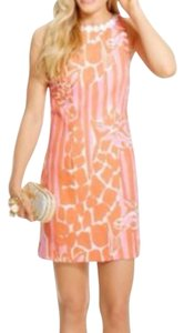 Lilly Pulitzer for Target short dress Pink, Orange, White on Tradesy