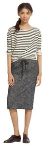 Madewell Wool Skirt Gray