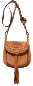 Chloé New Mini Suede Hudson Tassel Shoulder Bag
