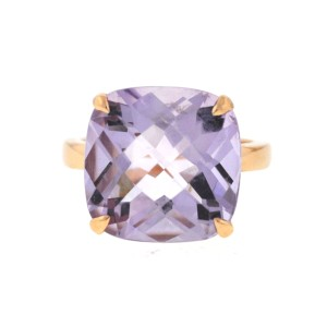 Tiffany & Co. Tiffany & Co. 18k Rose Gold SPARKLERS Lavender Amethyst Ring