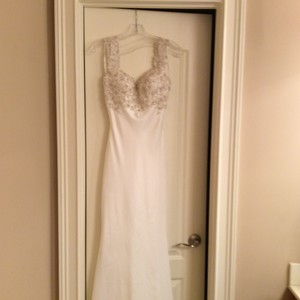 Carrafina Never Worn Carrafina Wedding Dress Wedding Dress