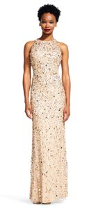 Adrianna Papell Cut-out Embellished Dress