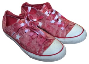 Converse Red Tie Dye Athletic