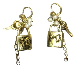 Betsey Johnson charm earrings