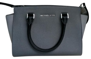 Michael Kors Satchel in Grey and black