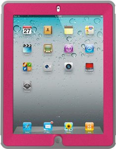 OtterBox Otterbox Defender Series Case for iPad 4/3/2 - Alpenglow Grey/Pink