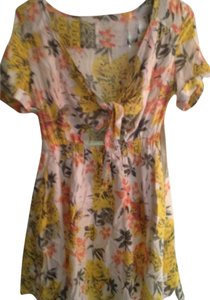 Free People short dress Floral Lily Combo Mini Brand New With Tags on Tradesy