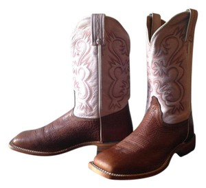Tony Lama Western Chunky Casual Comfortable Leather Boots